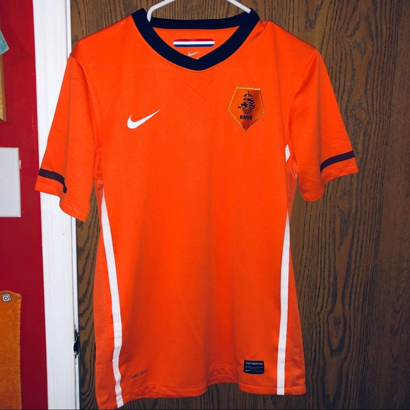 huge discount 6fbe1 642b5 🔥YOUTH NETHERLANDS SOCCER JERSEY XL 13-15